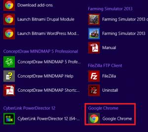 Google Chrome Windows 8 mode ⋆ The Technology Knowledge Base